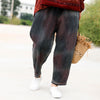 Autumn Overdye Loose Vintage Women Jeans