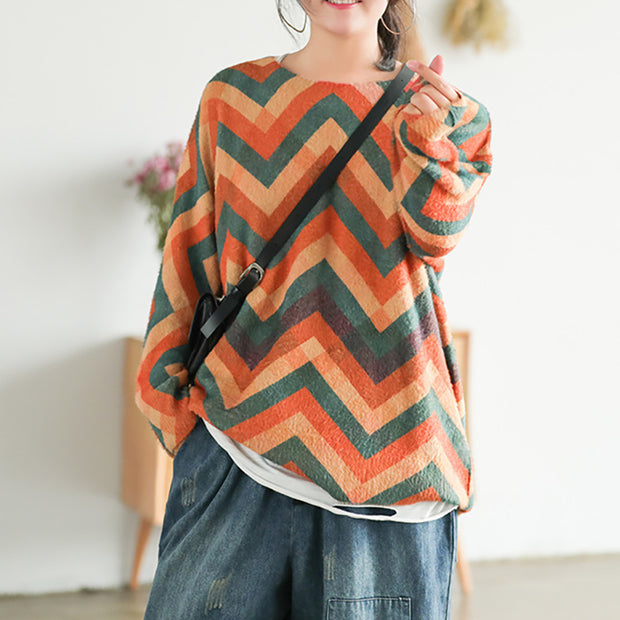 Autumn Printed Casual Comfortable Sweater
