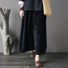 Autumn Retro Casual Corduroy Wide Leg Pants