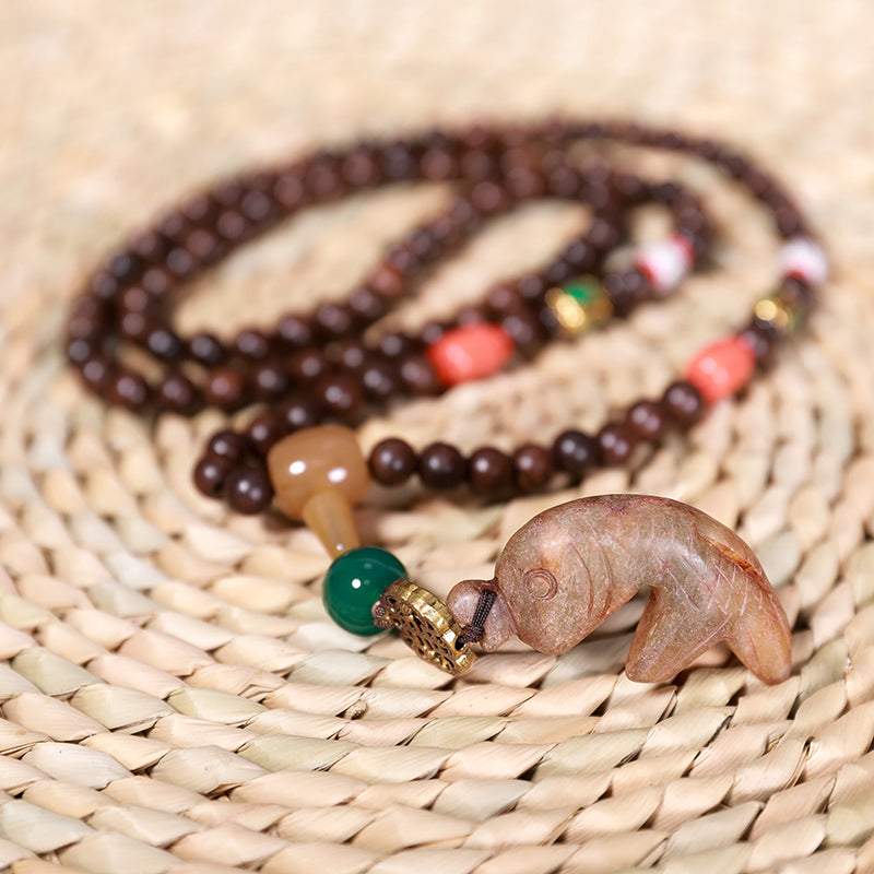 Beautiful Casual Animal Pendant Long Necklace