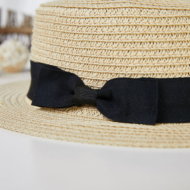 Breathable Solid Color Outdoor Flat Hat