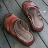 Brown Casual Flat Slippers Women Shoes