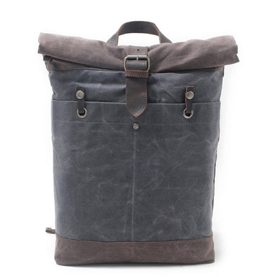 Canvas Large Capacity Casual Backpack