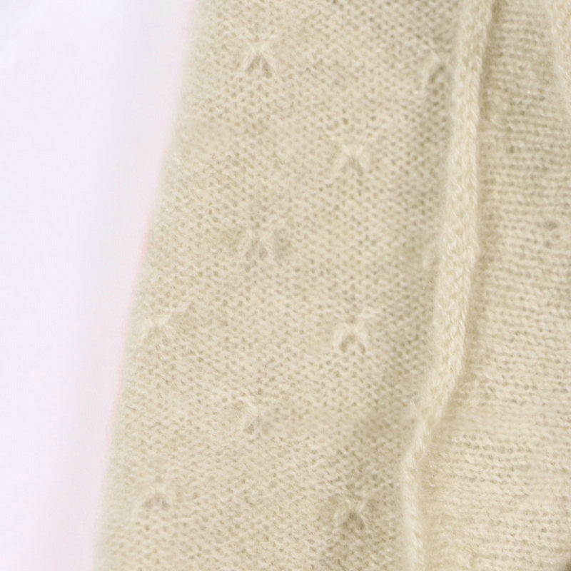 Cashmere Warm Solid Color Knitted Scarf