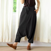 Casual Comfortable Low Crotch Plus Size Pants