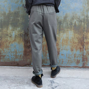Casual Pure Color Skin-friendly Straight Pants