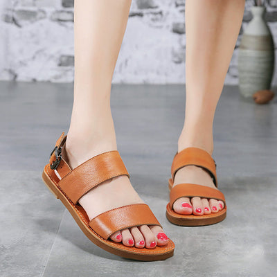 Casual Summer Brown Women Sandals