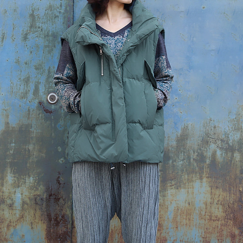 Casual Thick Warm Winter Down Waistcoat