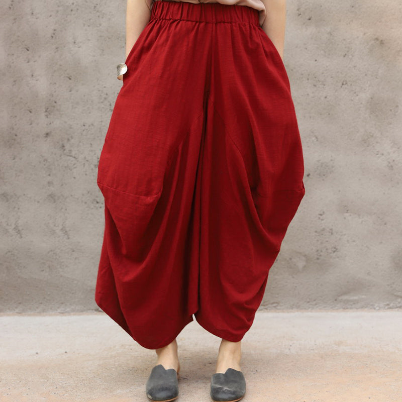 Casual Ultra-Loose Low-cut Crotch Pants