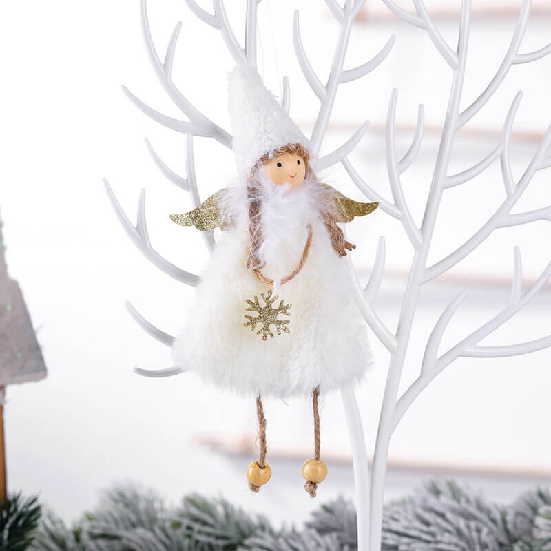 Christmas Trees Angel Doll Decor(3 Pieces)
