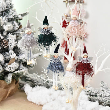 Christmas Trees Windows Doll Accessories(6 Pieces)