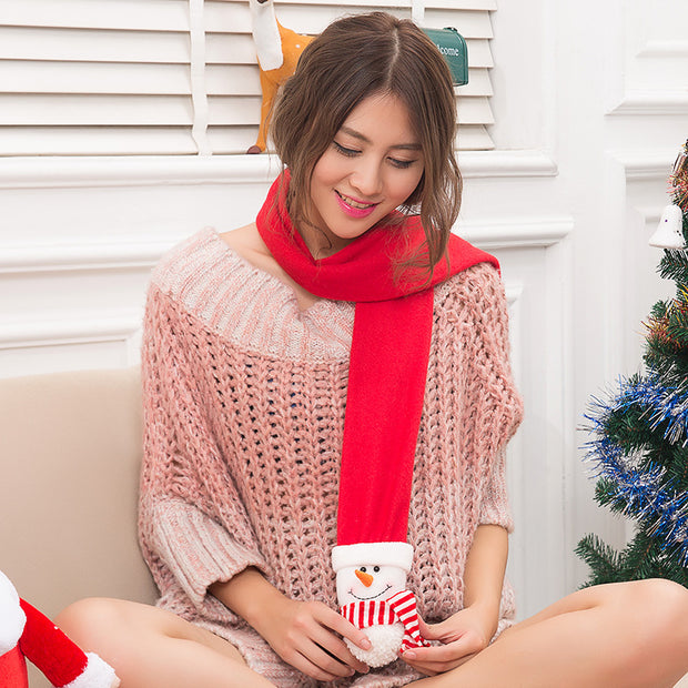Christmas Cute Soft Comfortable Scarf