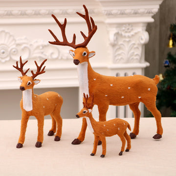 Christmas Decoration - Cute Sika Deer Toy