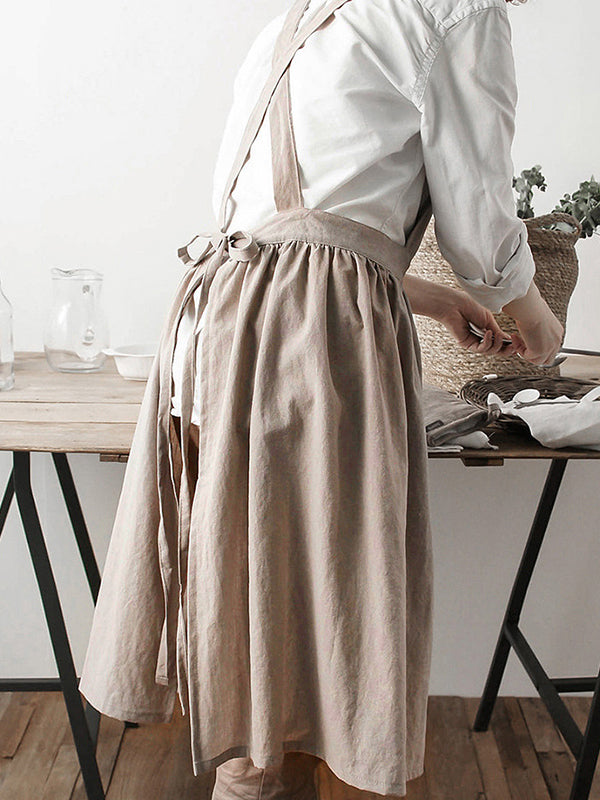 Coffee Shop Bakery Pure Color Apron