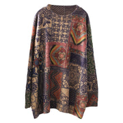 Colored Printed Soft Comfortable Warm Sweater