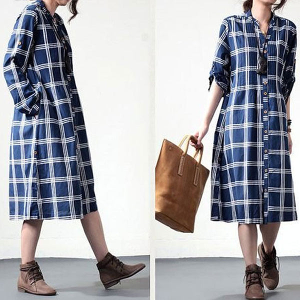 Cotton  Loose Dress