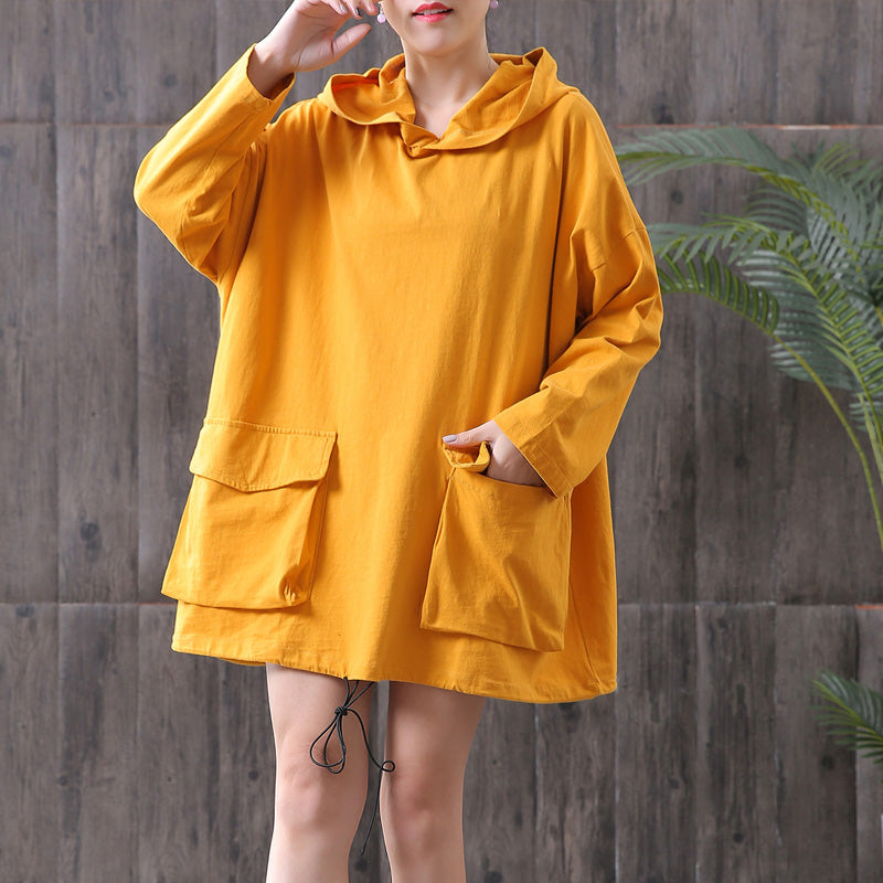 Cotton Casual Long Sleeve Hoodie