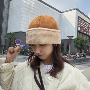 Cute Warm Suede Beret