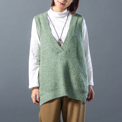 Winter Casual Pullover Women Sweater Waistcoat