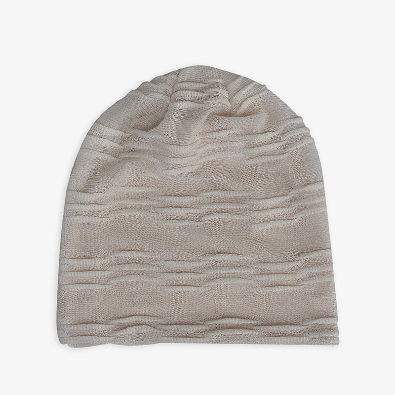 Elastic Pure Color Thin Cotton Hat