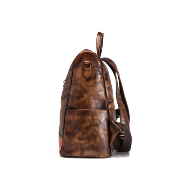 Fashion Splicing Casual Simple Backpack