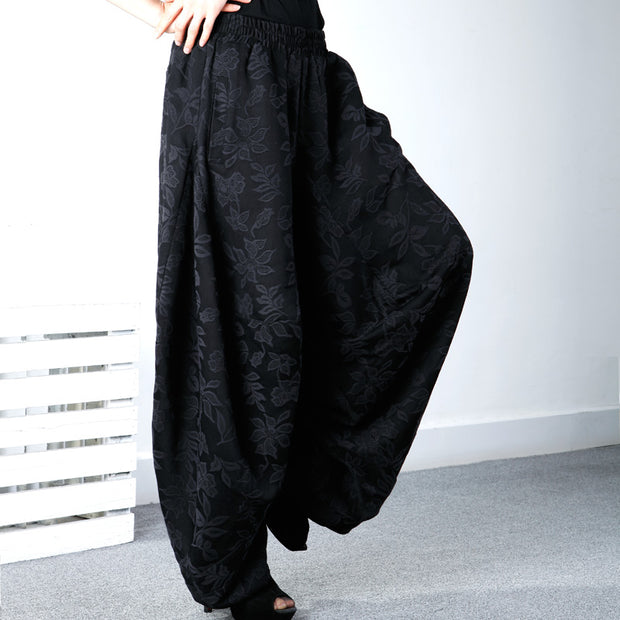 Female Jacquard Fashion Harem Pants Autumn