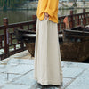 Female Pure Color Soft Wide Leg Pants