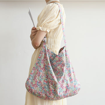 Floral Casual Large Capacity Shoulder Bag