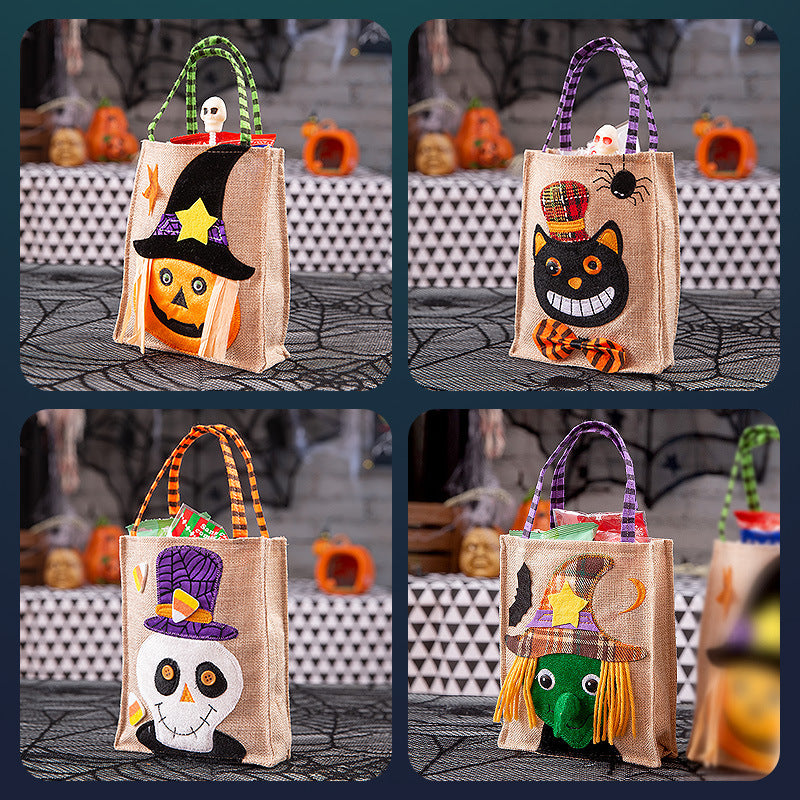 Halloween Ghost Pumpkin Candy Gift Bag(2 Pieces)