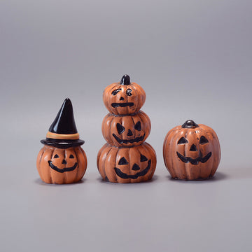 Halloween Pumpkin Ornaments Decor(5 Pieces)