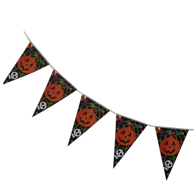 Halloween Party Paper Pennant