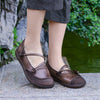 Handmade Weaving Simple Comfortable Leather Shoes