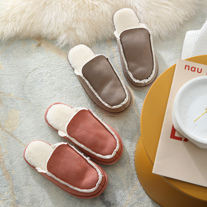 Home Warm Unisex Winter Stitching Slippers
