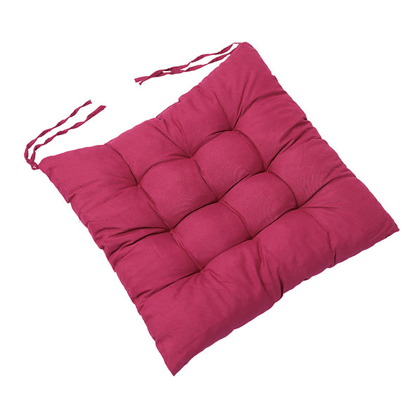 Comfortable Geometry Plain Soft Polyester Cushion - Buykud