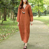 Autumn V Neck Long Sleeve Jacquard Dress For Women - Buykud