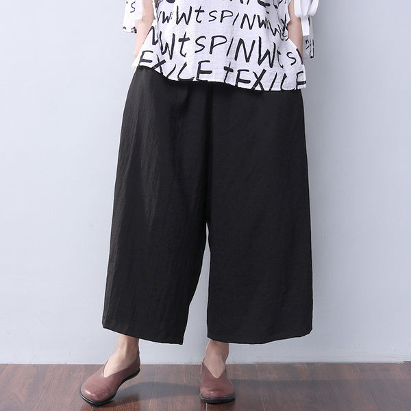 Loose Casual Women Summer Pants