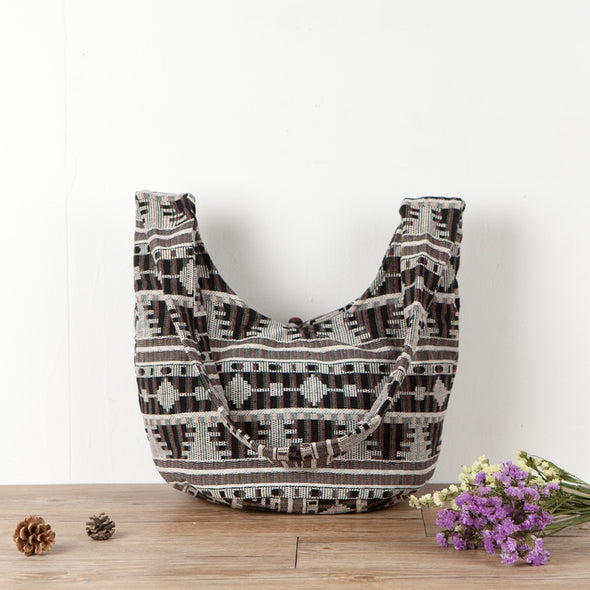 Ethnic Embroidery Multi-Pattern Women Shoulder Bag - Buykud