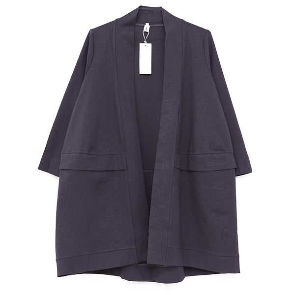 Women Spring Autumn Long Sleeve Plain Cardigan Coat