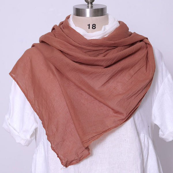 Autumn Winter Women Keep Warm Gradient Color Rectangle Scarf - Buykud