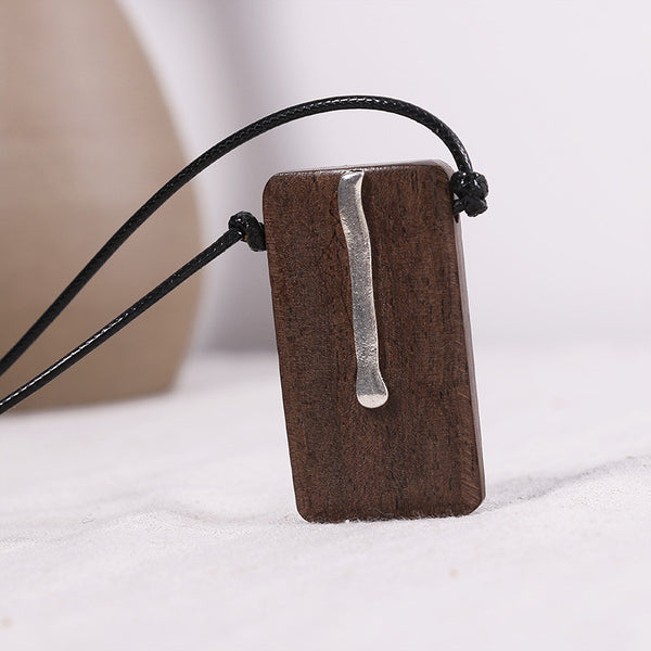 Wooden Ethnic Metal Retro Women Necklaces