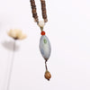Wooden Casual Women Retro Beaded Necklaces - Buykud