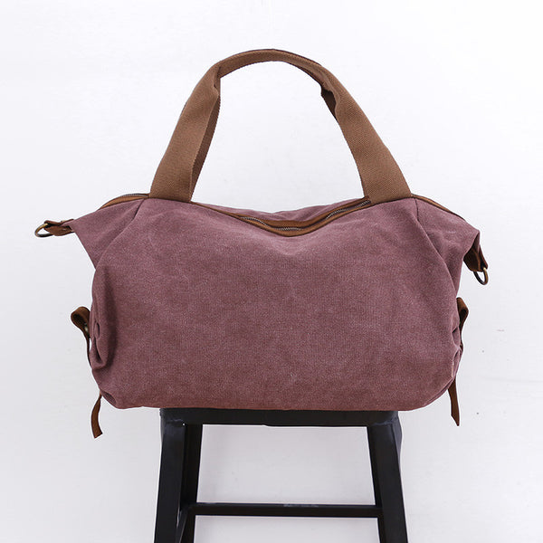Casual Women Canvas Messenger Bag - Buykud