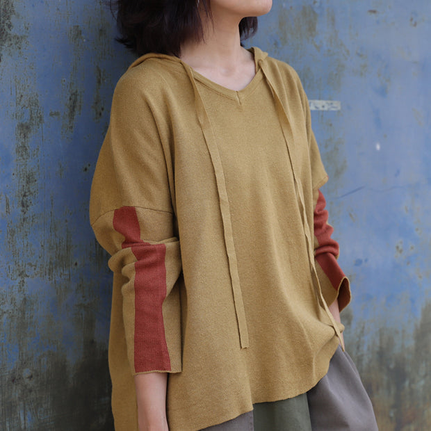Lacing Pure Color High Low Hem Shirt