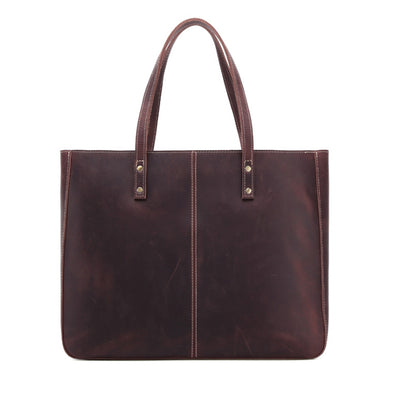 Ladies Casual Fashion Leather Tote Bag