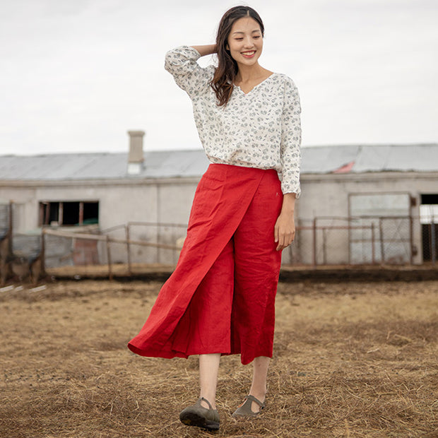 Layer Cloth Design Personality Plus Size Pants