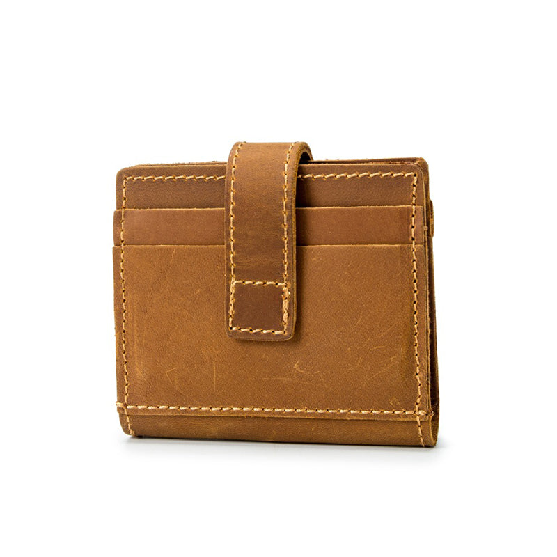 Leather Card Holder Wallet For Women
