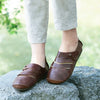 Leather Hand Made Round Toe Comfortable Shoes