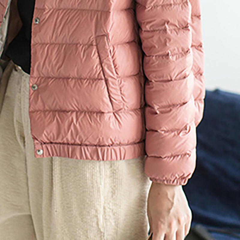 Light and Thin Winter Warm Casual Down Coat