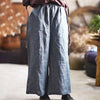 Linen Casual Female Thin Wide Leg Pants