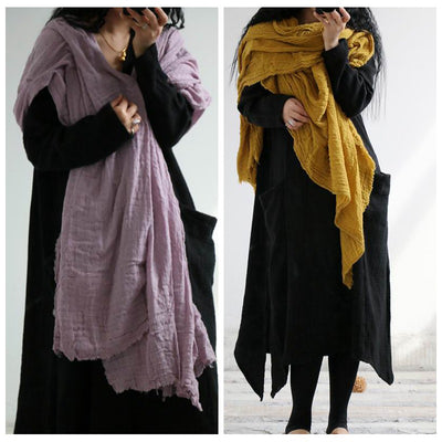 Literature Casual Women Crumple Scarf